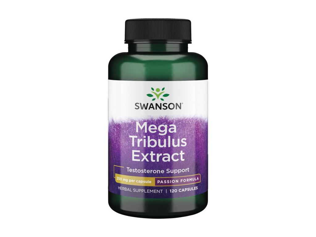 Swanson Mega Tribulus Extract, 120 kapslí