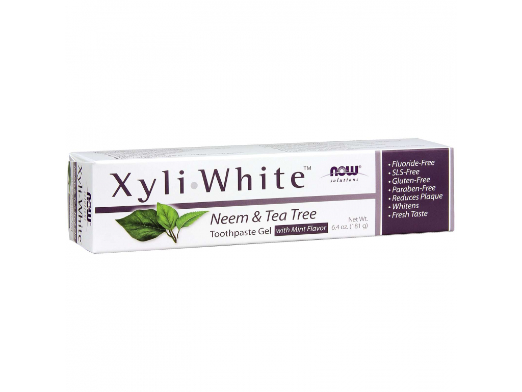 NOW SOLUTIONS XyliWhite Zubní Pasta Neem & Tea Tree, 181 g 1