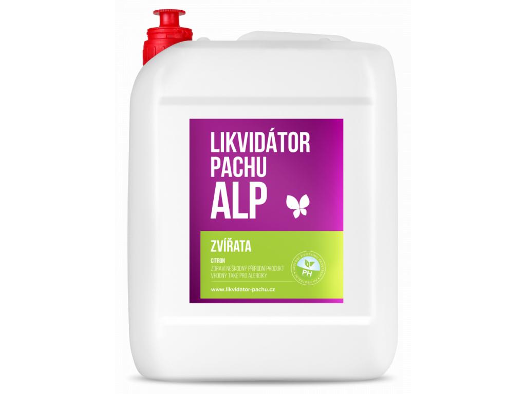 Likvidátor pachu ALP Zvířata Citron 5000 ML