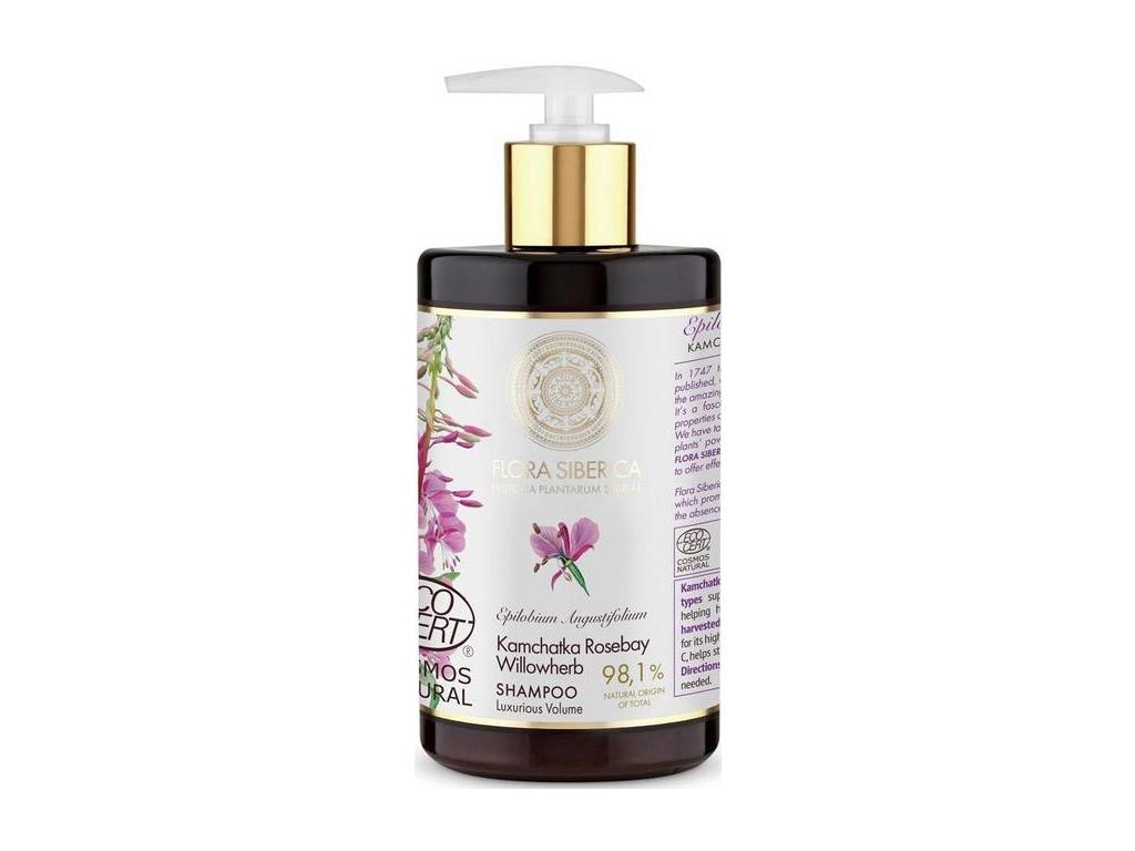 Natura Siberica Flora šampon pro jemné vlasy 480 ml