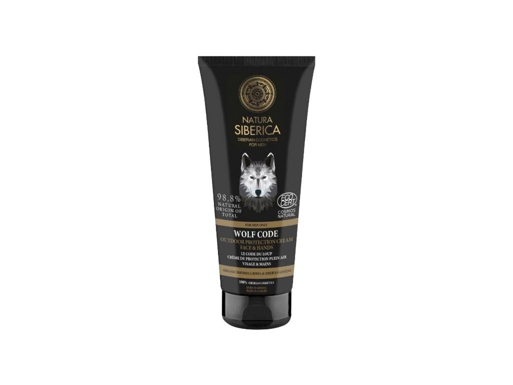 Natura Siberica Wolf Code krém na ochranu obličeje a rukou 80 ml