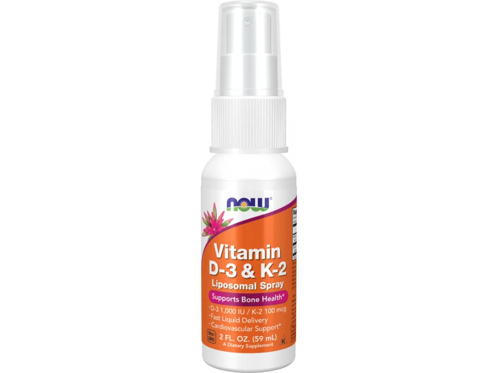 NOW FOODS Liposomal Vitamin D3 & K2