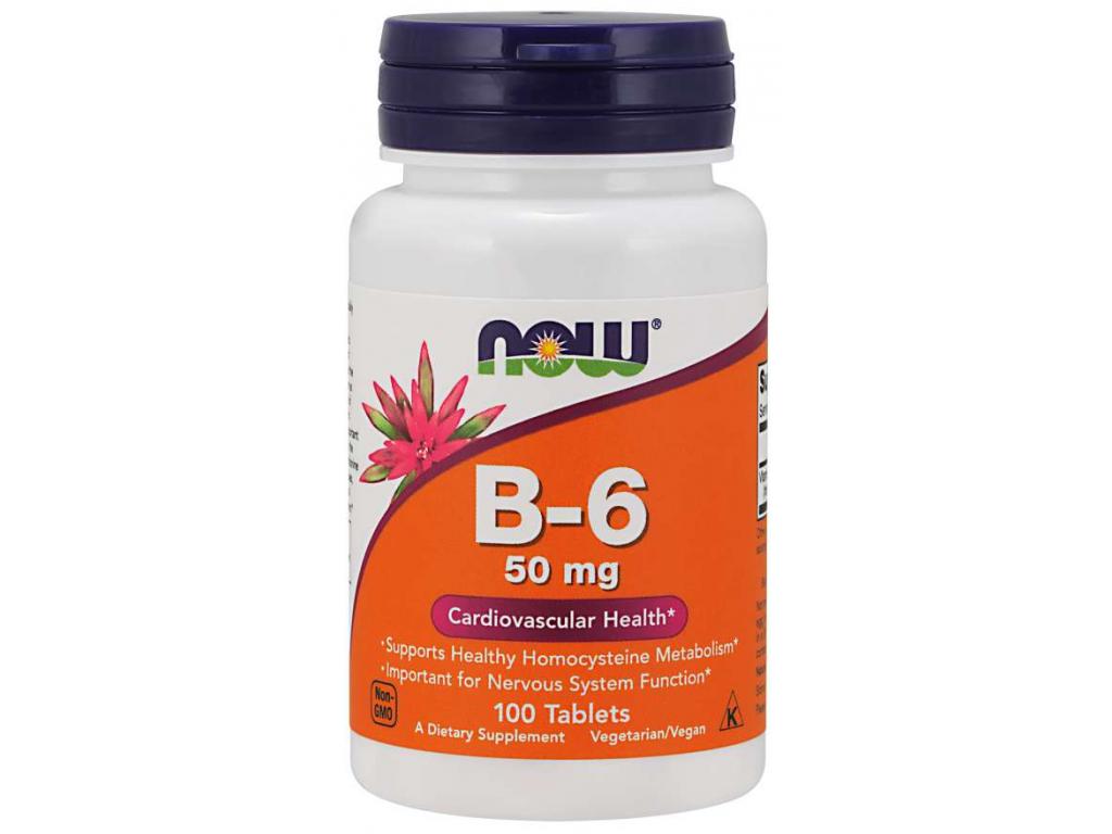 Vitamin B 6 50 mg Tablets