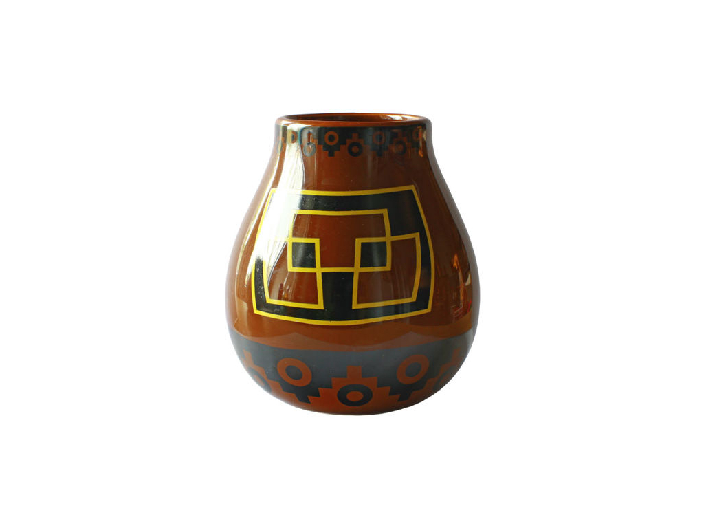 Keramicka kalabasa vzor Peru