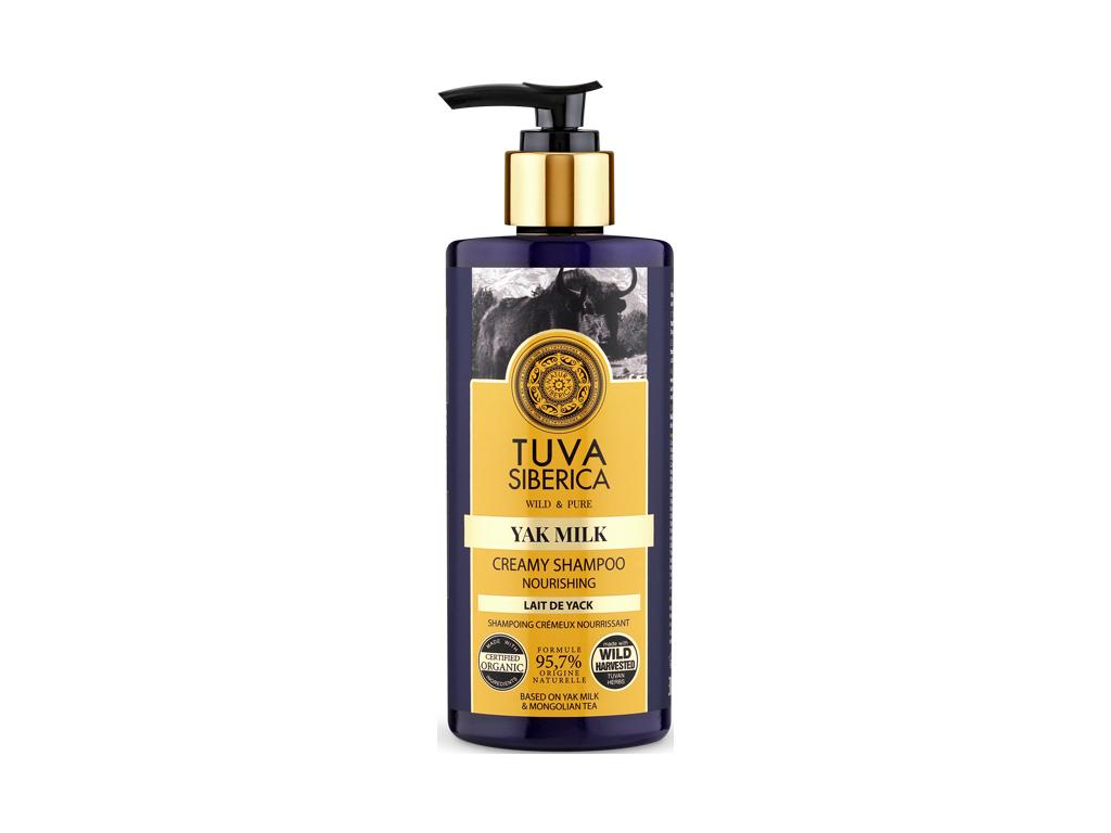 Natura Siberica Tuva Siberica Krémový vyživující šampon, 300 ml