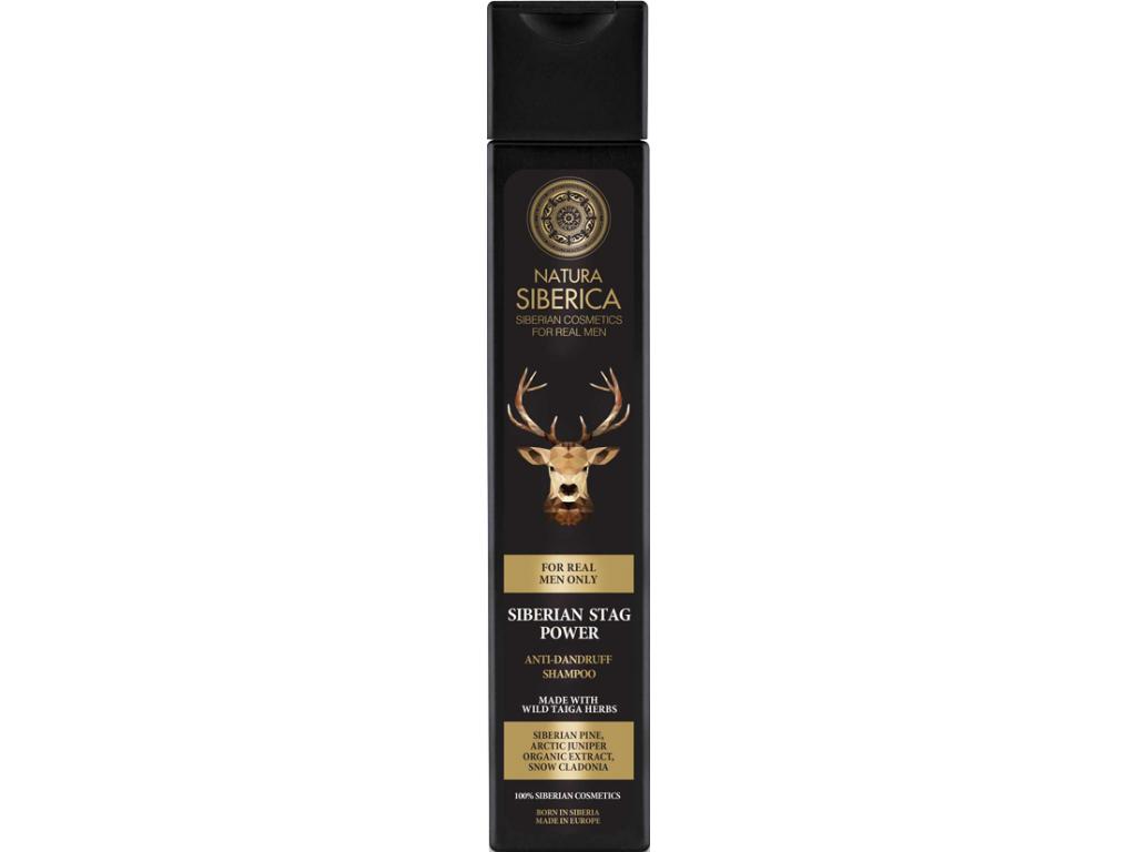 Natura Siberica Men šampon proti lupům Sibiřský jelen 250 ml