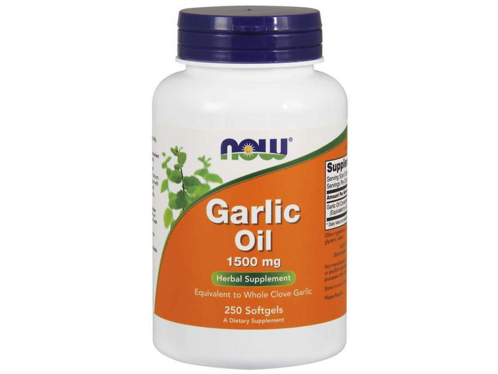 NOW Garlic Oil