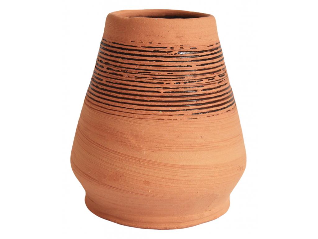 Keramická kalabasa, Cono ručně vyrobená, 250 ml