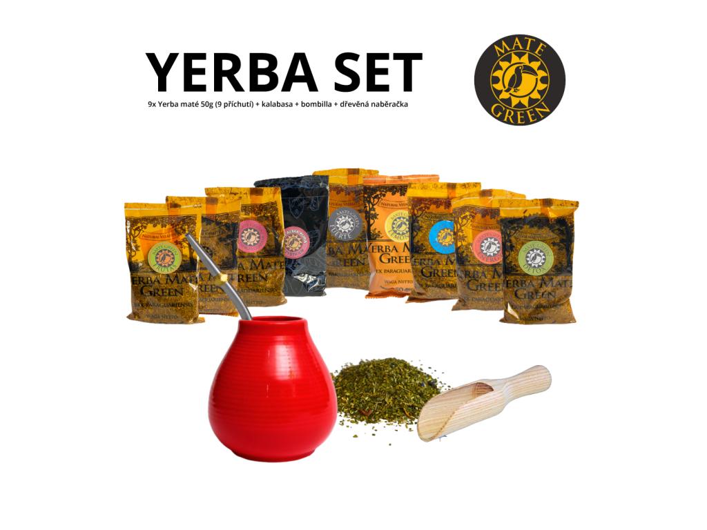 yerba set (9ks)