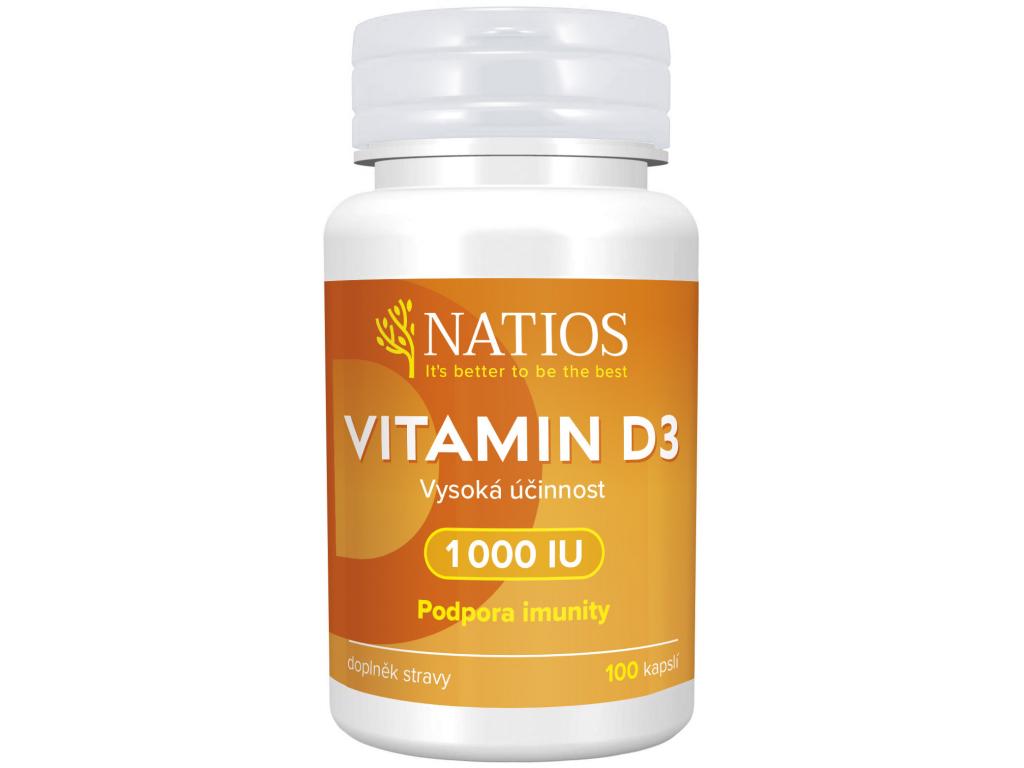 Natios Vitamin D3 1000 IU