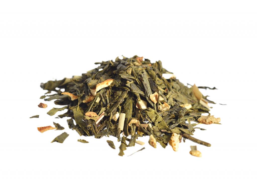 Sencha pomeranč a citron, zelený čaj 50g