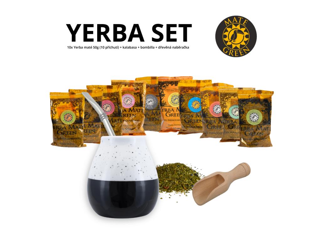 yerba set (calm zluta)