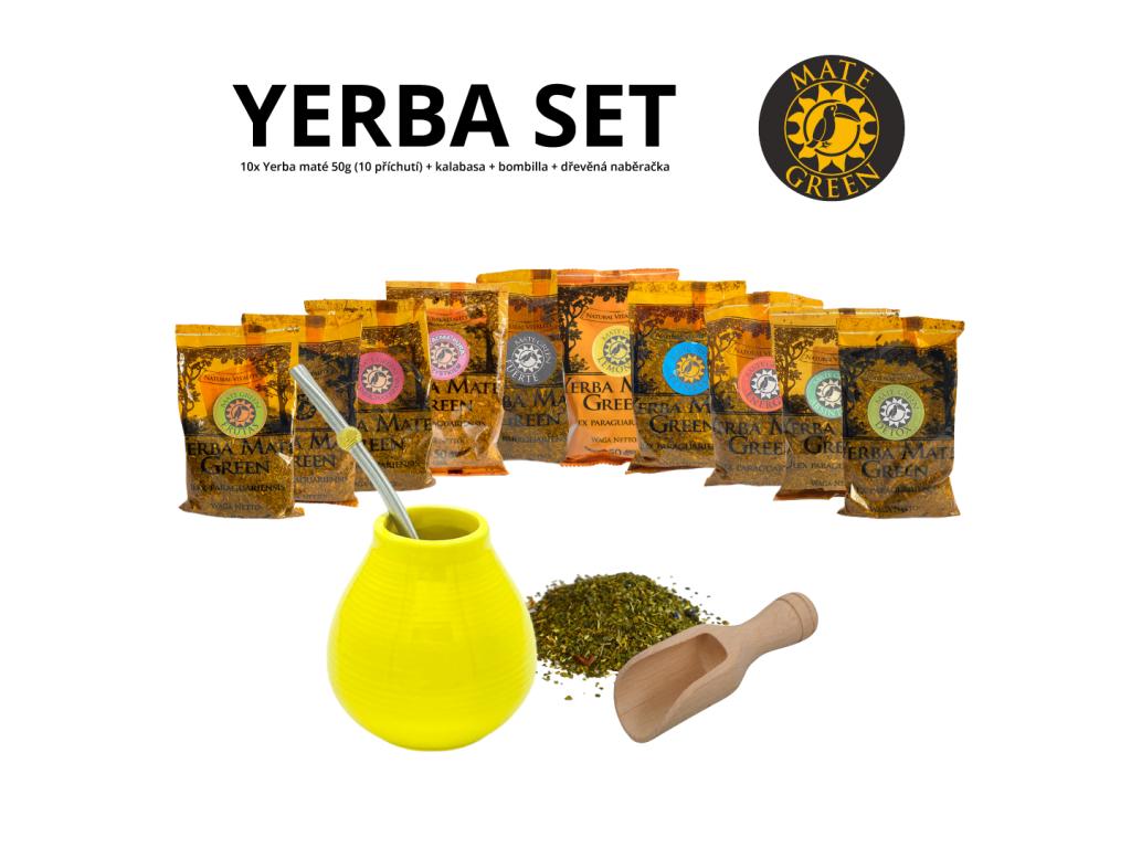 yerba set (zluta+pruzinova)