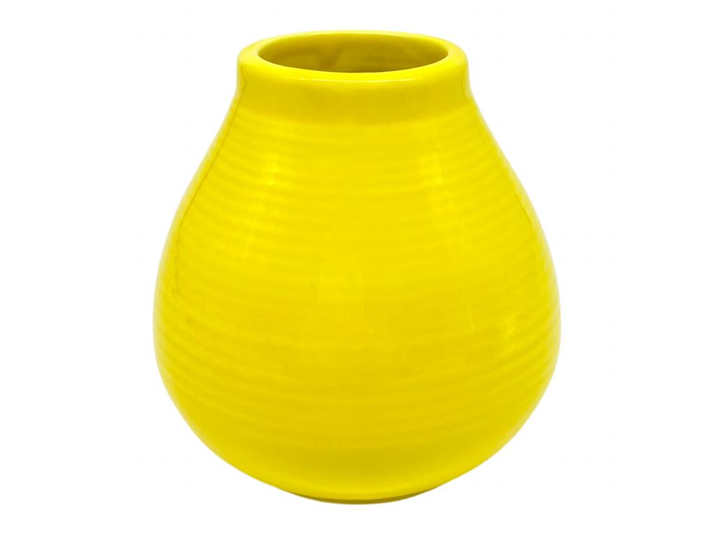 Keramická kalabasa, Žlutá, 300 ml 2