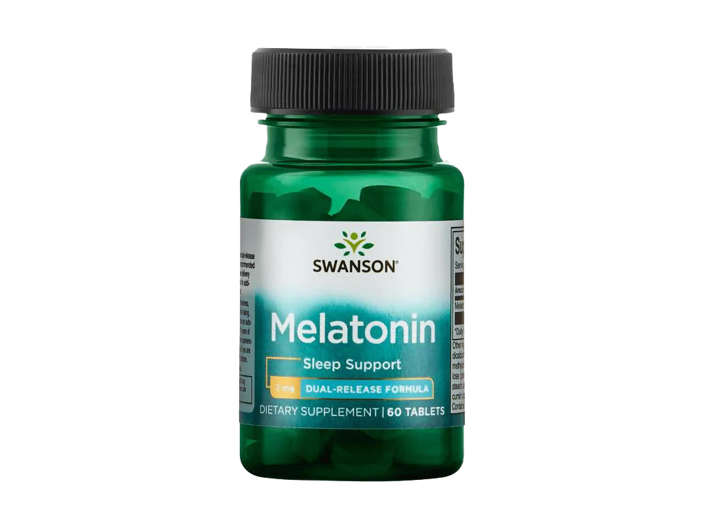 Swanson Melatonin Dual Release, 3 mg, 60 tablet