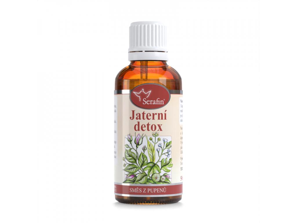 Jaterní detox, Serafin tinktura ze směsi pupenů, 50 ml