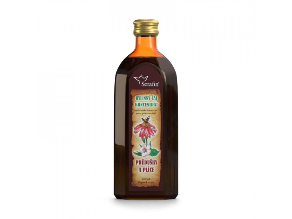 Průdušky a plíce, Serafin čajový koncentrát, 250 ml