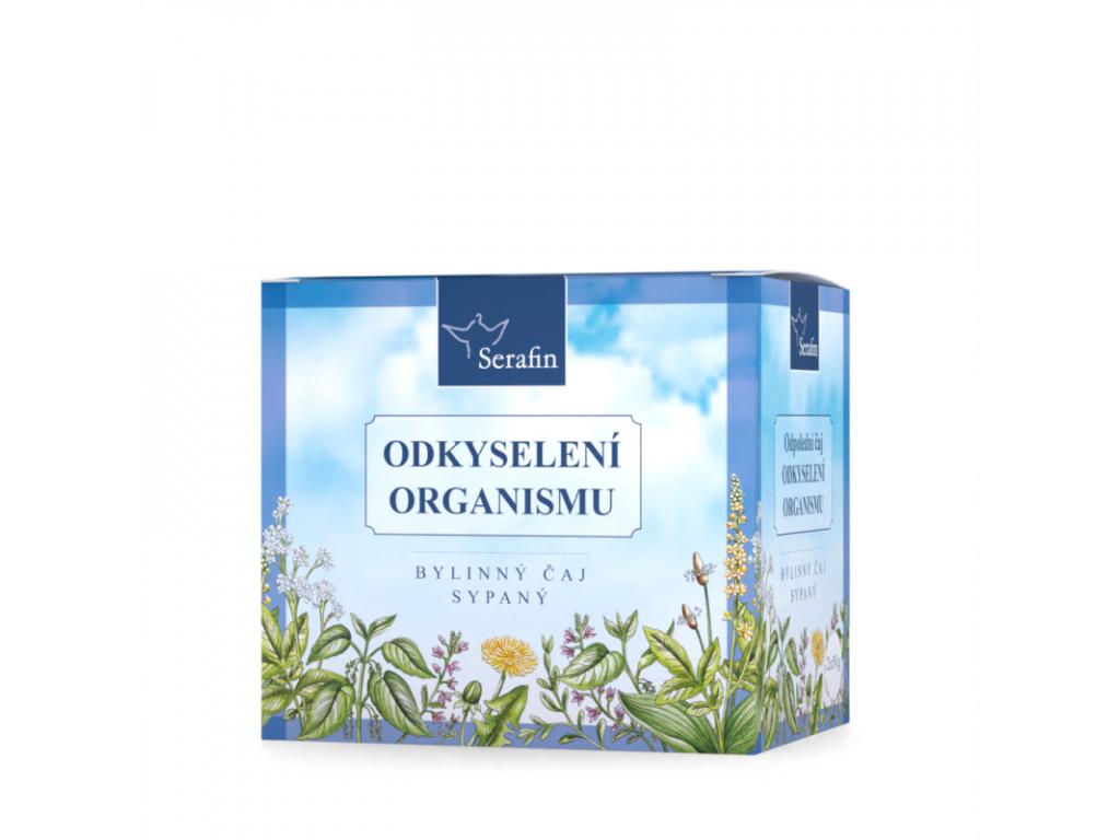 Odkyselení organismu, Serafin bylinný čaj sypaný, 2 x 50 g