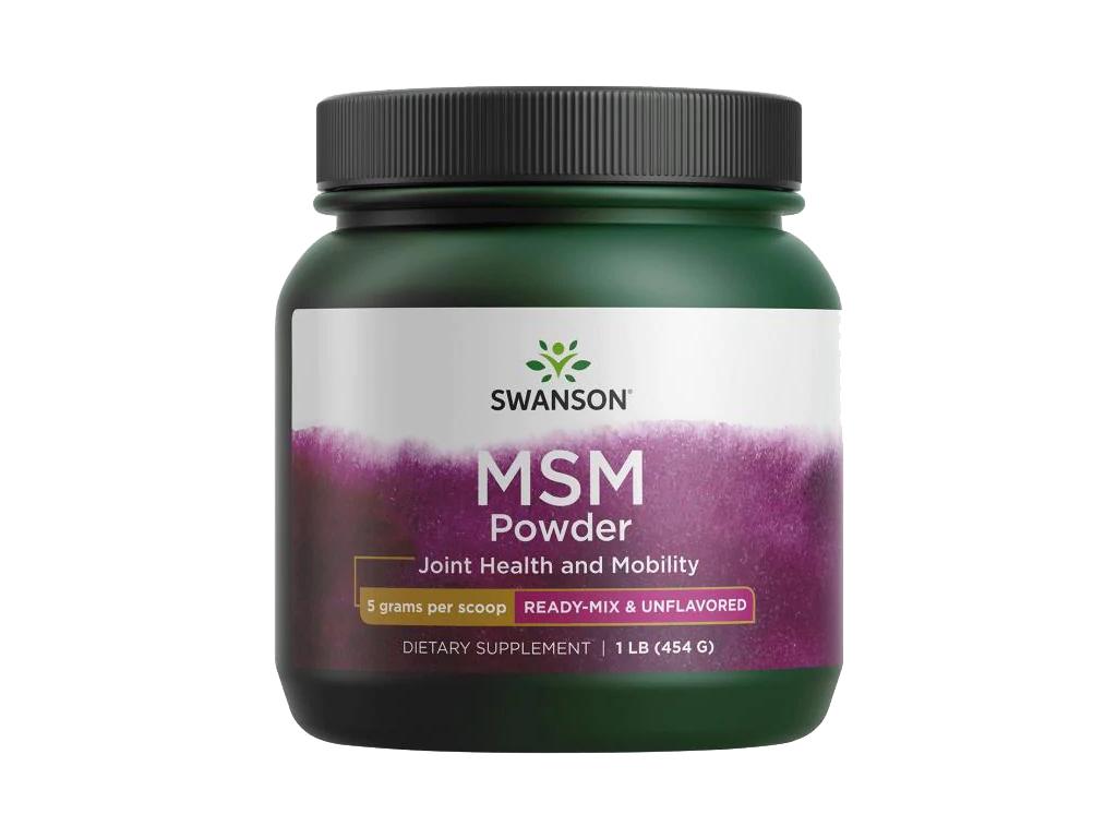 Swanson MSM Prášek, 454 g