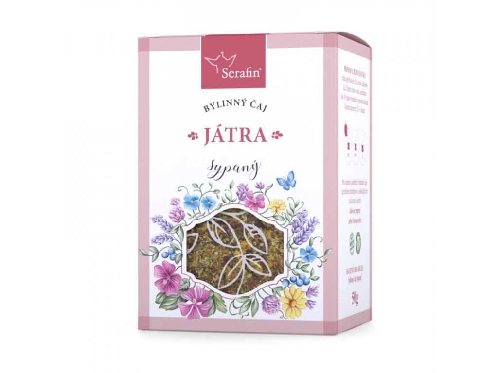 Játra, Serafin bylinný čaj sypaný 50 g