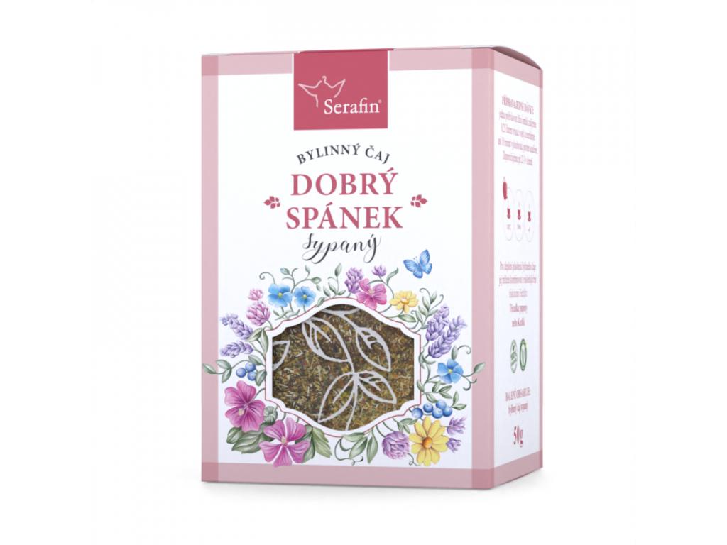 Dobrý Spánek, Serafin bylinný čaj sypaný 50 g