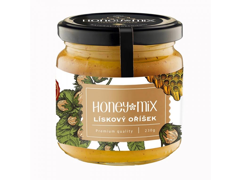 HoneyMix Med, Lískový oříšek 230 g