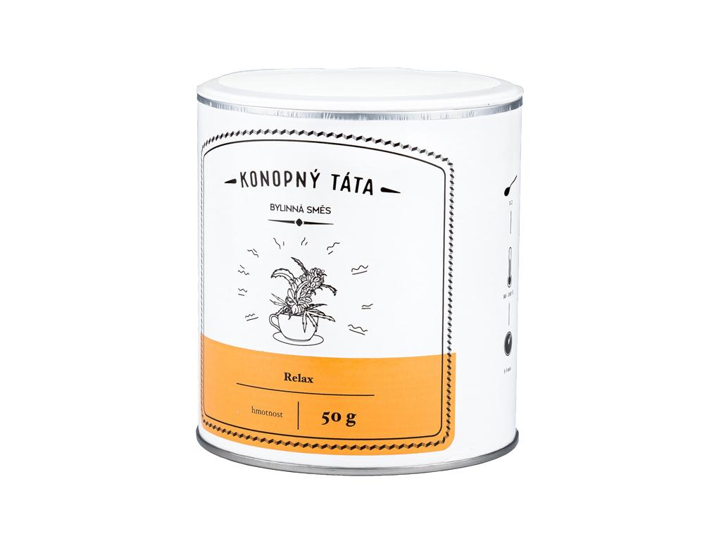 Konopný Táta, Konopný čaj RELAX, 50 g