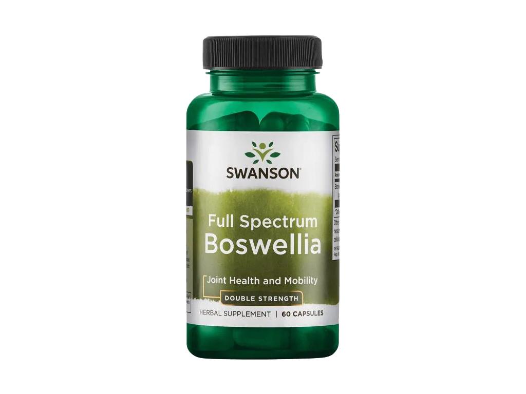 Swanson Boswellia Full Spectrum, 800 mg, 60 kapslí