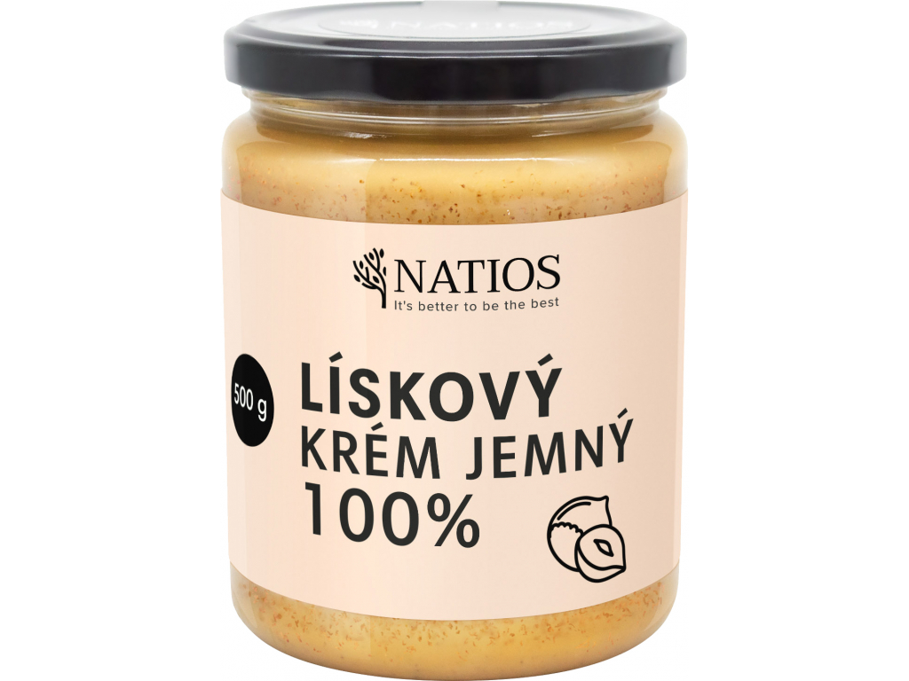 NATIOS Liskovy krem, Jemny, 500 g