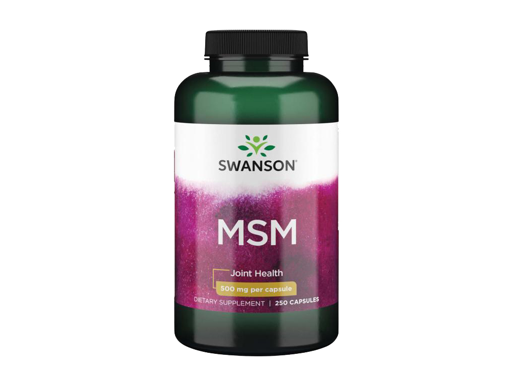 Swanson MSM, 500 mg, 250 kapslí