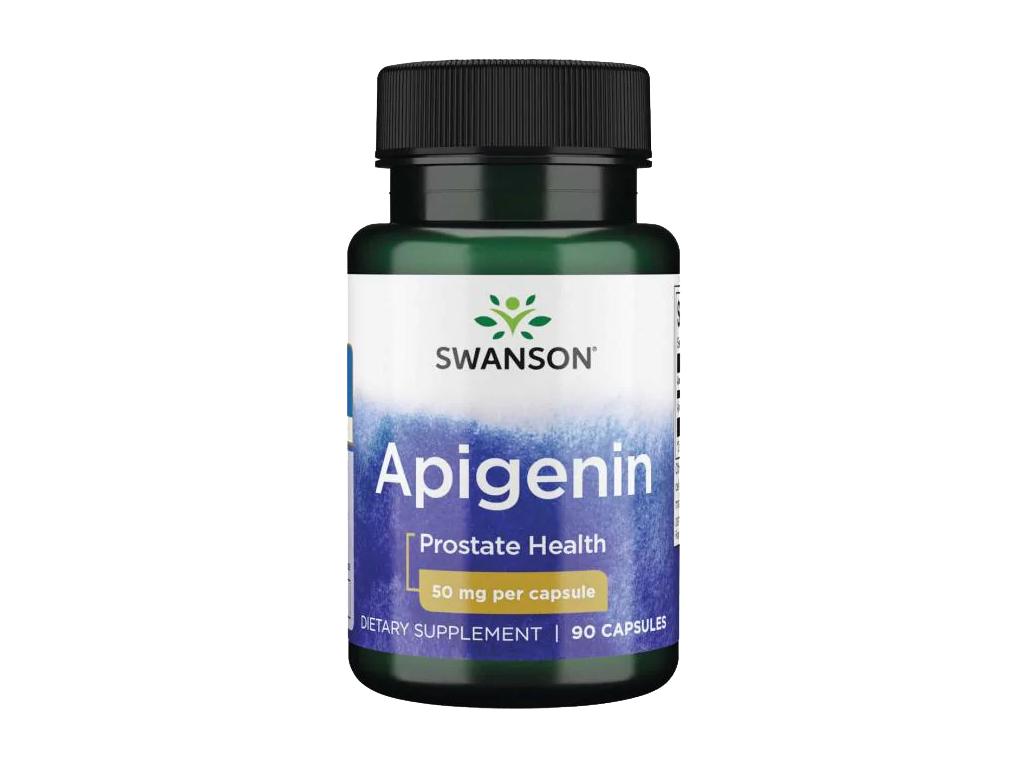 Swanson Apigenin, 50 mg, 90 kapslí