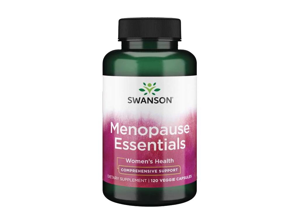 Swanson Menopause Essentials, 120 rostlinných kapslí