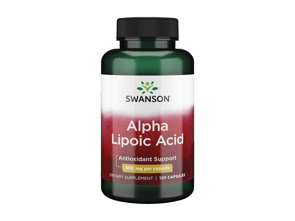 Swanson Alpha Lipoic Acid, 300 mg, 120 kapslí