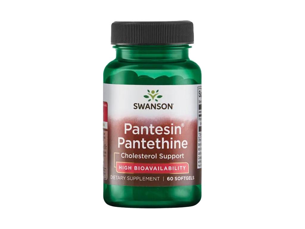 Swanson Pantesin Pantethine, 300 mg, 60 softgel kapslí