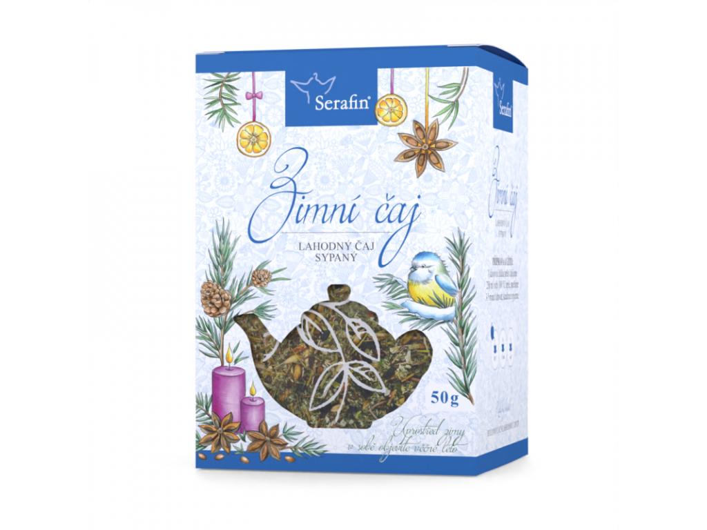 Zimní čaj, Serafin bylinný čaj sypaný 50 g