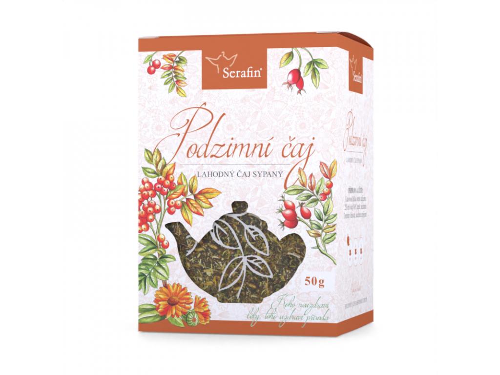 Podzimní čaj, Serafin bylinný čaj sypaný 50 g
