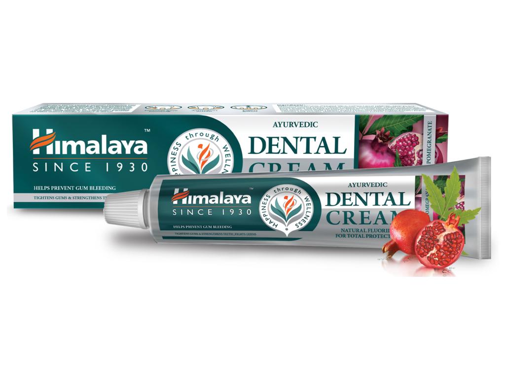 Himalaya Zubní pasta s přírodním fluoridem, Neem a granátové jablko, 100 g