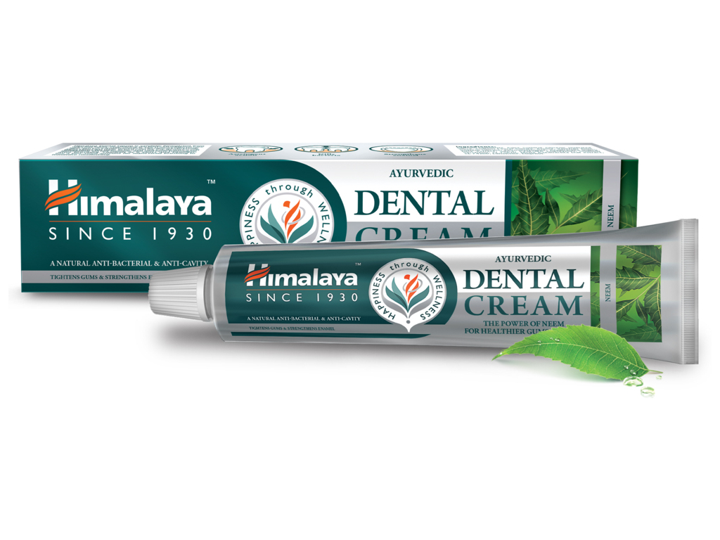 Himalaya Dental Cream Zubní pasta pro zdravé dásně a zuby, Neem, 100 g