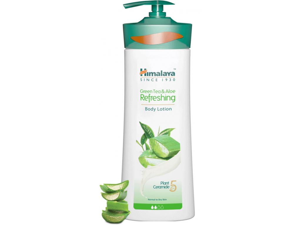 Himalaya Osvěžující tělové mléko se zeleným čajem a aloe, 400 ml