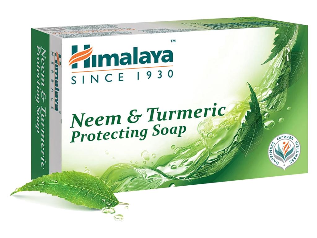 Himalaya Ochranné mýdlo Neem a Kurkuma, 75 gramů
