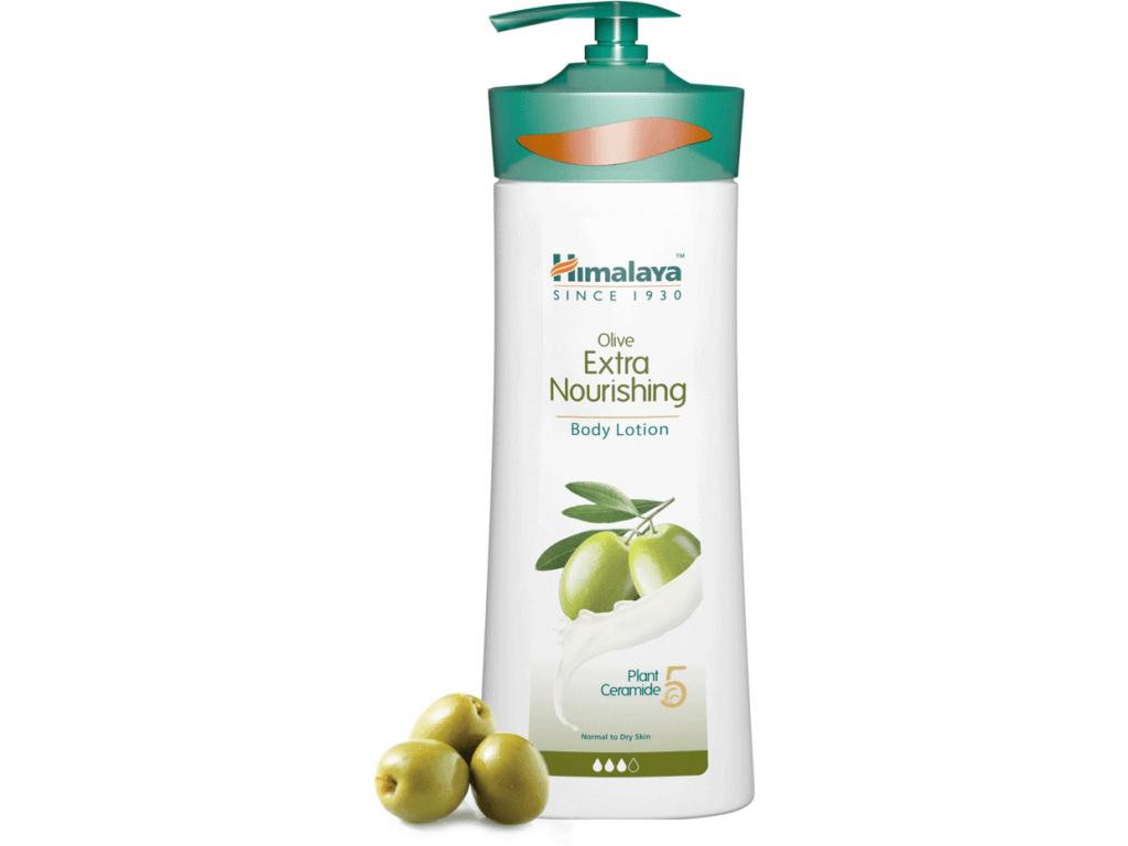 Himalaya Extra výživné olivové tělové mléko, 400 ml
