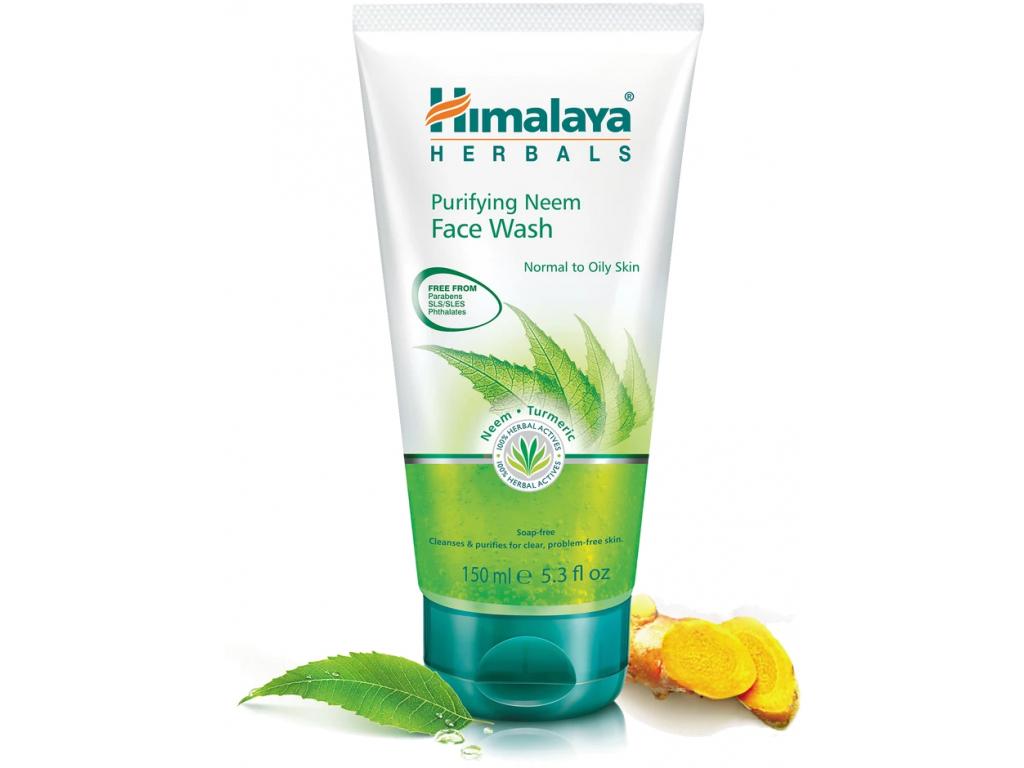 Himalaya Čisticí mycí gel na obličej s Neemem, 150 ml