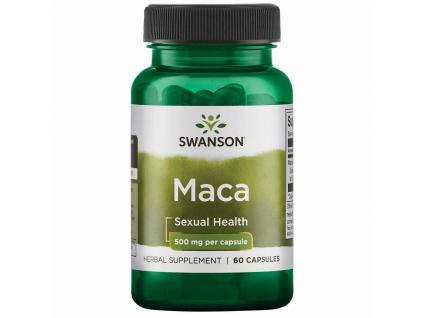 Swanson Maca Horská 500 mg 60 kapslí