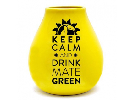 kalabasa keep calm yellow