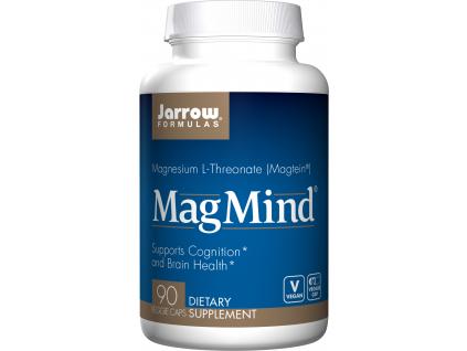 Jarrow MagMind, L treonát hořečnatý, Magtein, 90 tablet