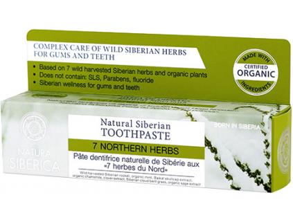 Natura Siberica přírodní sibiřská zubní pasta 7 sibiřských bylin 100 g 2