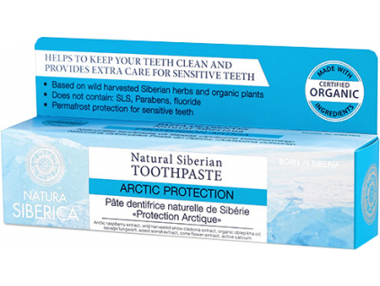 Natura Siberica přírodní sibiřská zubní pasta Arktická ochrana 100 g 2