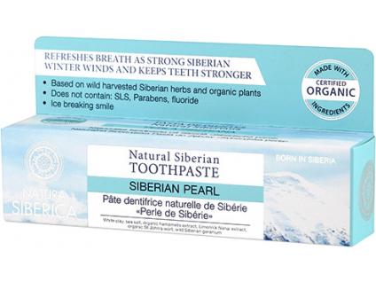 Natura Siberica přírodní sibiřská zubní pasta Sibiřská perla 100 g 2
