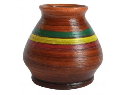 Keramická kalabasa, Rasta ručně vyrobená, 230 ml