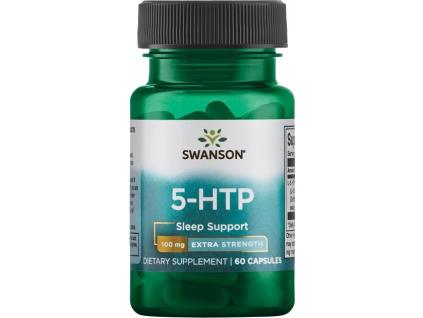 Swanson 5 HTP Extra Strength, 100 mg, 60 kapslí